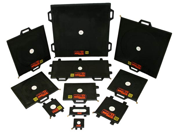 Lineup of Matjack high pressure lifting bags